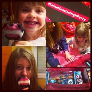 Kalisse Monster High party